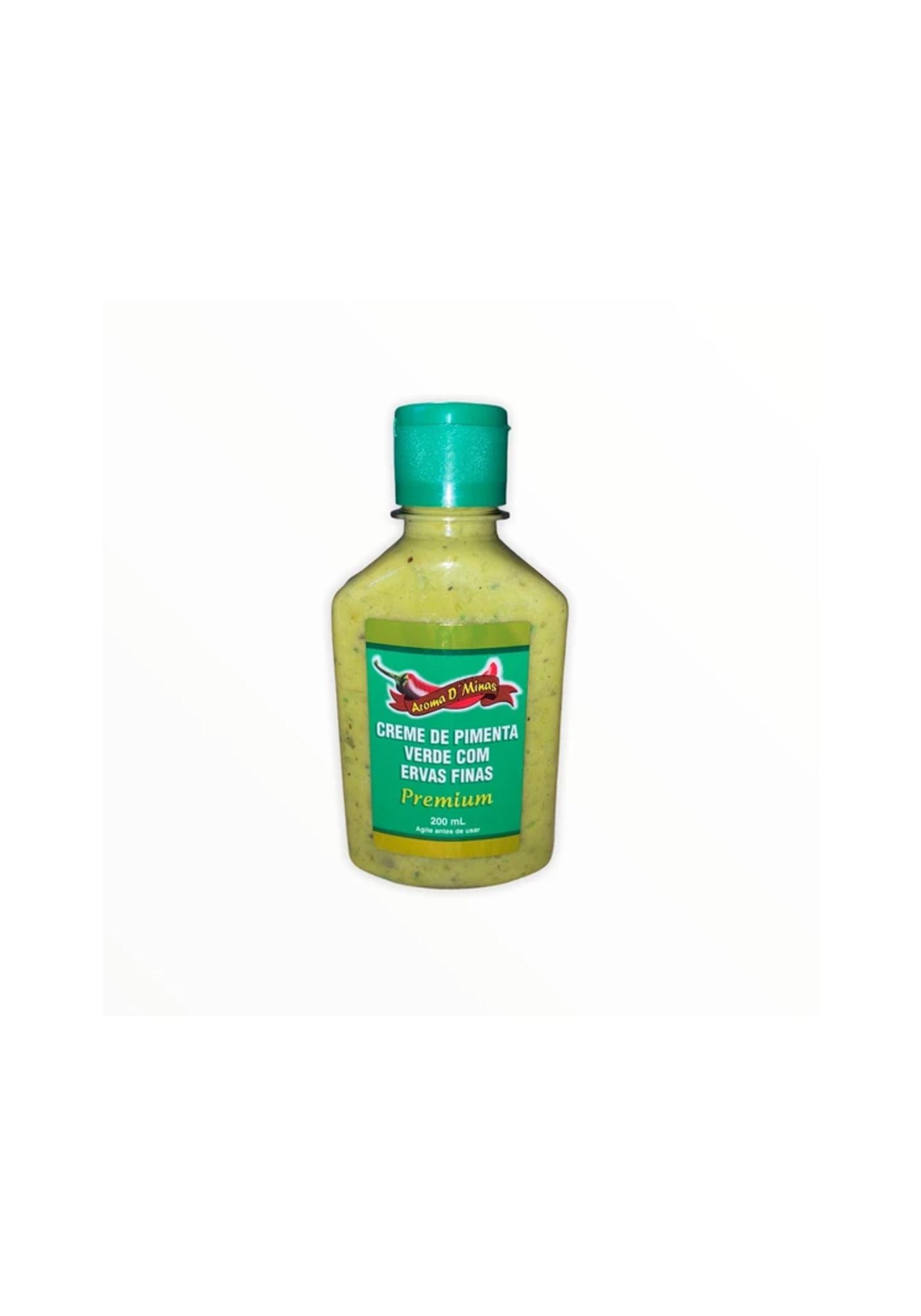 creme de pimenta verde aroma de minas